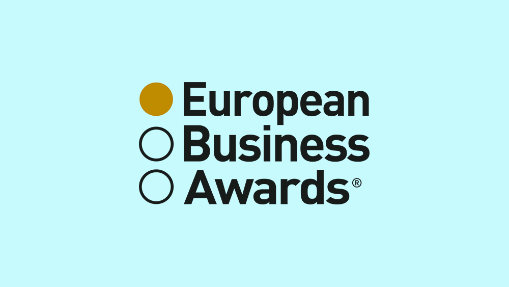 Afinna One is awarded at the European Business Awards in Warsaw