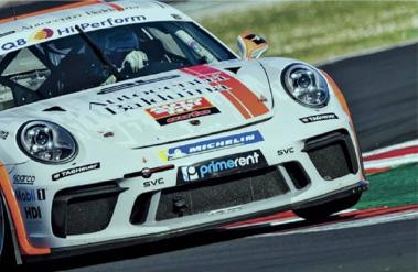 Afinna One sponsor ufficiale della Porsche GT4 Clubsport