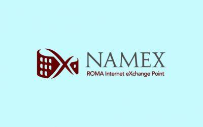 Afinna One è orgogliosa di annunciare ufficialmente il suo ingresso in NaMeX, il punto di interscambio del mediterraneo
